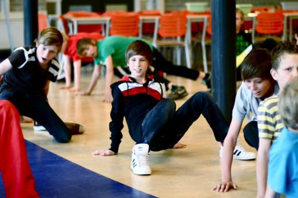 Workshop Breakdance Personeelsuitje