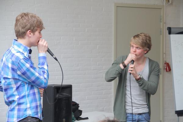 Workshop Beatboxen Personeelsuitje