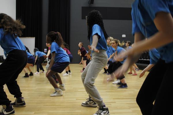 Workshop Streetdance Personeelsuitje